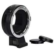ADAPTADOR DE LENTE COMMLITE  EF A E-MOUNT HIGH-SPEED AF (NEGRO)